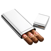 High quality Stainless steel pipe travel cigar tube  CG-0129