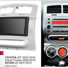Автомобильный радиоприемник с рамкой Android 9,1 автомобильное радио с GPS плейер для Toyota IST 07-16 Urban cruiser 08-14 Scion XD мультимедийный рекордер