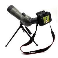 Datyson 20 60x60 обновленная версия монокулярная Зрительная труба Водонепроницаемый зум телескоп с треногой и зеркальной камерой фотоадаптер
