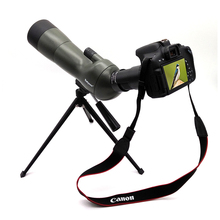 Buy online Datyson 20-60×60 Upgrade Version Monocular Spotting Scope Waterproof Zoom Telescope with Tripod & SLR Camera Photography adapter
