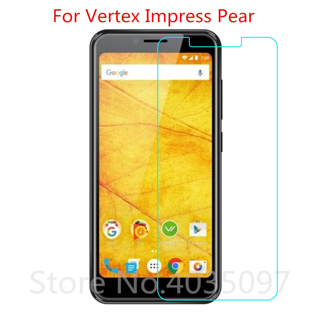 Tempered Glass For Vertex Impress Pear Screen Protector 9H 2.5D Phone Protective Glass For Vertex Impress Pear Glass