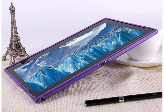 Nuevo Luxury Silicone X Line Soft Silicone Rubber TPU Gel Skin Shell - Accesorios para tablets - foto 6