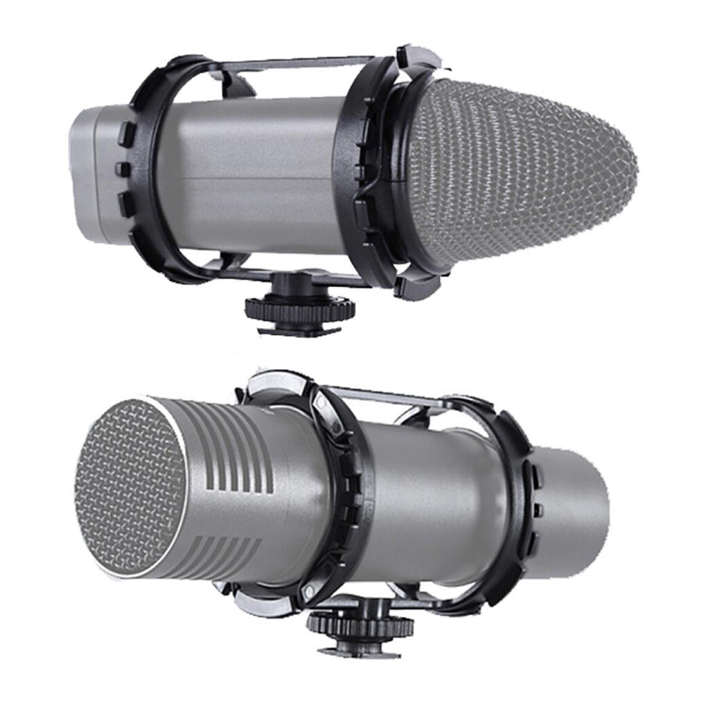 Unterhaltungselektronik Obligatorisch Boya By-c03 Kamera Schuh Shockmount Für Mikrofone 1 zu 2 In Durchmesser By-vm300ps By-v02 40mm-48mm Mic Zoom H1 Kalten Schuh