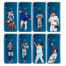 baseball cartoon Bryce Harper soft silicone phone cases cover Capinha Coque fundas capa for Huawei Y9 2019 2018 Y7 Y6 Prime