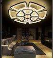 Современная акриловая Подвесная лампа  лампа ведет в гостиную  спальню  потолочные светильники  акриловая потолочная лампа  приспособление