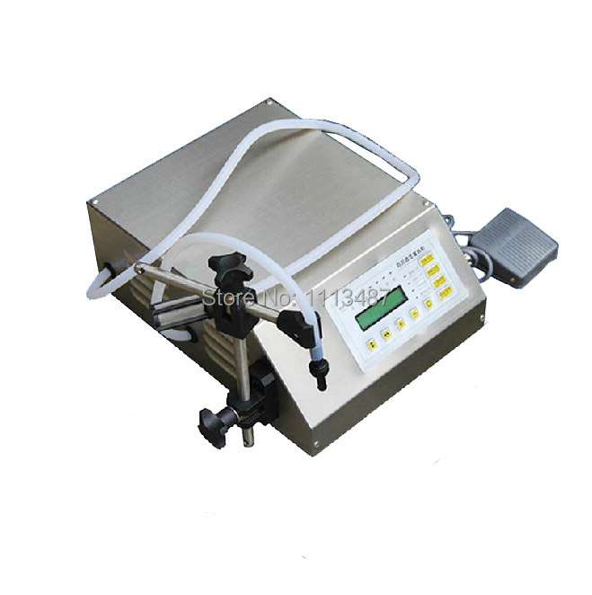 Brand New Digital Control Water Liquid Filling Machine Filler GFK-160 5-3500ml hot sale in russia digital control pump drink water liquid filling machine gfk 160 5 3500ml