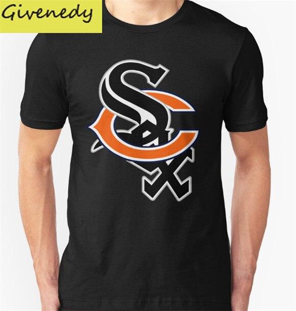 Hot Sale Summer Style 2016 Fashion Bear Sox Short Sleeve Round Neck font b Shirt b