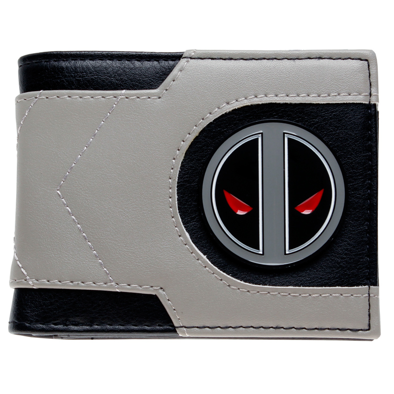 Marvel Deadpool X Force Bi-Fold Wallet DFT-2029 the punisher wallet marvel comics punisher with logo superhero collection character leather look bi fold purse dft 1536