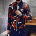 Free shipping 2015 autumn and winter fashion explosion models men's fashion casual cotton jacket