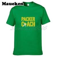 Men Packer Coach T Shirt Clothes Green Bay T Shirt Men S For Fans Gift O