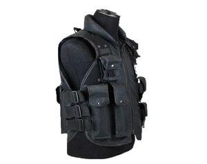 Image 5 - Тактический жилет с 11 карманами для мужчин, Охотничий Жилет для улицы, военный тренировочный жилет, защитный модульный жилет безопасности