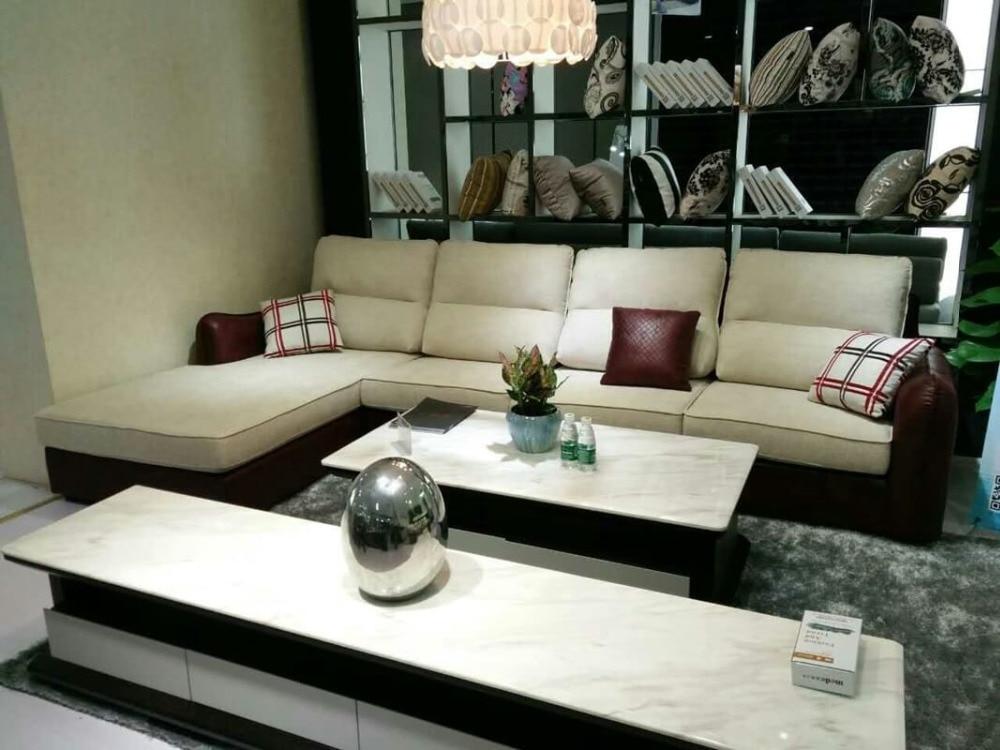 l a forma di mobili-acquista a poco prezzo l a forma di mobili ... - L Forma Divano In Tessuto Moderno Angolo