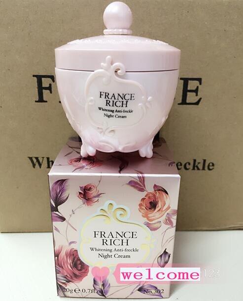 Wholesale France Rich Moisturizing Whitening anti Freckle Night Cream Face Care