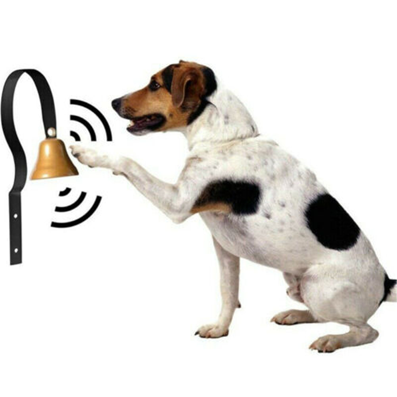 High Quality Dog Metal Chink Bell House Breaking Potty Training Pet Doorbell Hot New Pet Dog Trainings Dog Drill Doorbell-4