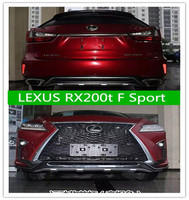 2 шт. автомобиль ABS спереди + заднего бампера протектор гвардии опорная плита для 16 17 Lexus RX200t F Sport 2016 2017 2018 быстро, EMS