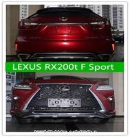 2 шт. автомобиль ABS спереди + задний бампер Защита Чехол опорная плита для 16 17 LEXUS RX200t F Sport 2016 2017 2018 быстро EMS