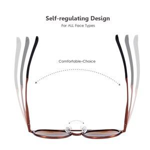Image 4 - Barcur polarizado óculos de sol redondos de luxo marca masculina retro vintage feminino óculos uv400