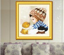 ФОТО 5d diy full round diamond painting  mosaic full round spinning boy girl   embroidery sale living room decor rhinestone y529 y530