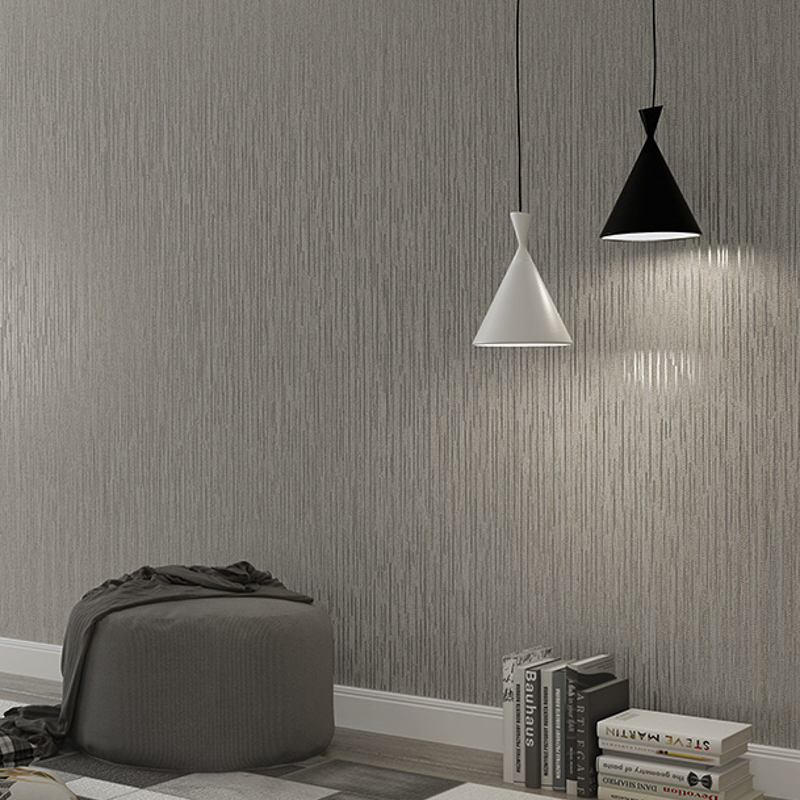Paysota Modern Simple Solid Color Yellow Wallpaper Bedroom: Aliexpress.com : Buy Modern Solid Grey Wallpaper For