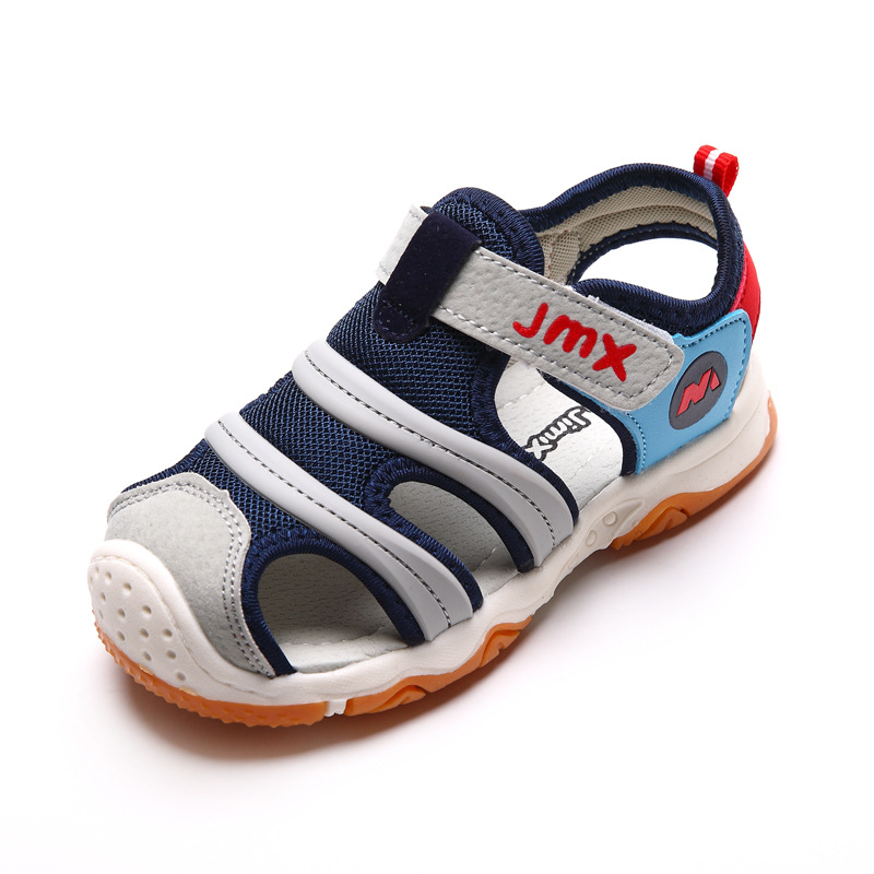 2018 Summer New Boys Sandals Childrens Casual Shoes Girls Close Toe Sandal For Kids Soft Bottom Fashion Beach Sandals MX31