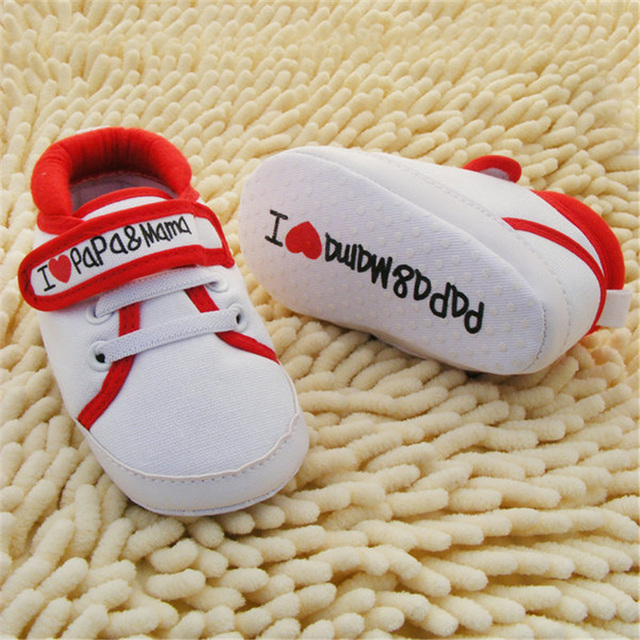 0-18M Baby Infant Kids Boy Girls Soft Sole Canvas Sneaker Toddler Newborn Shoes New 5