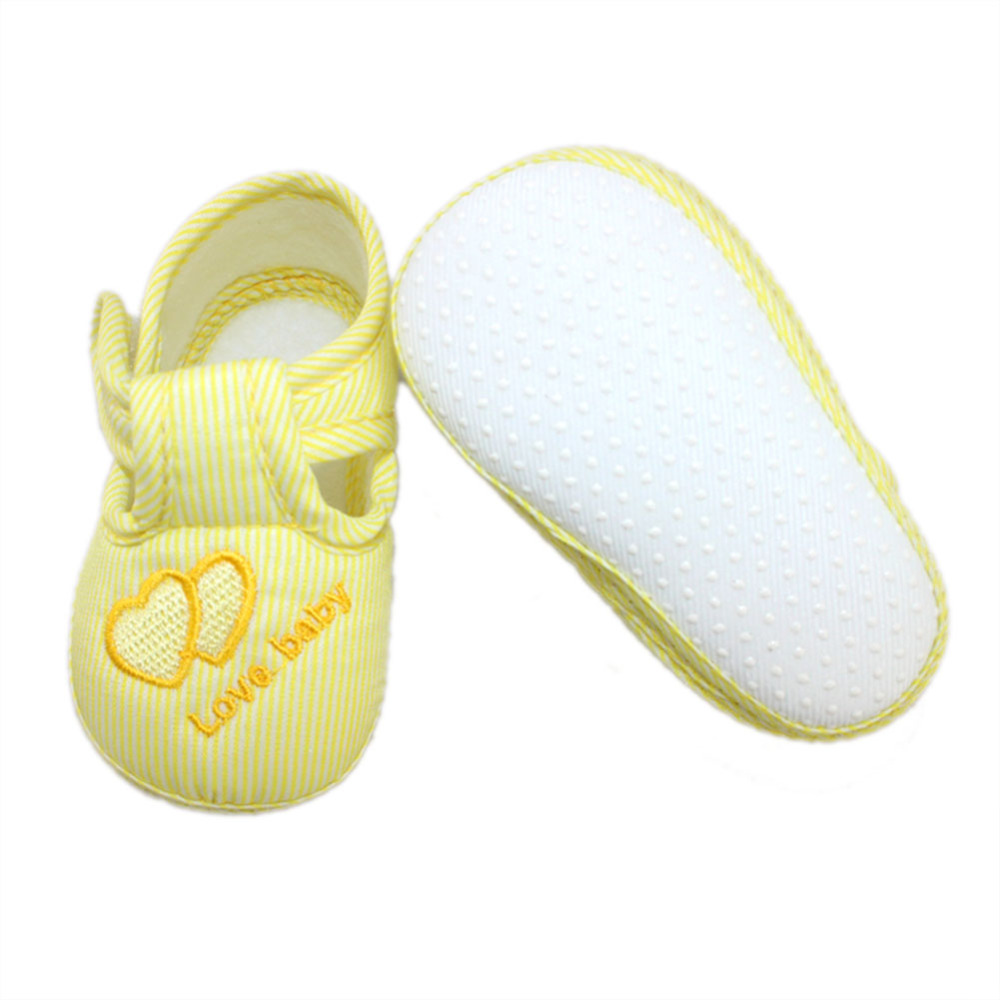 3 värvi uus puuvillane beebitüdrukute poisid kingad väikelapse - Beebi kingad - Foto 4
