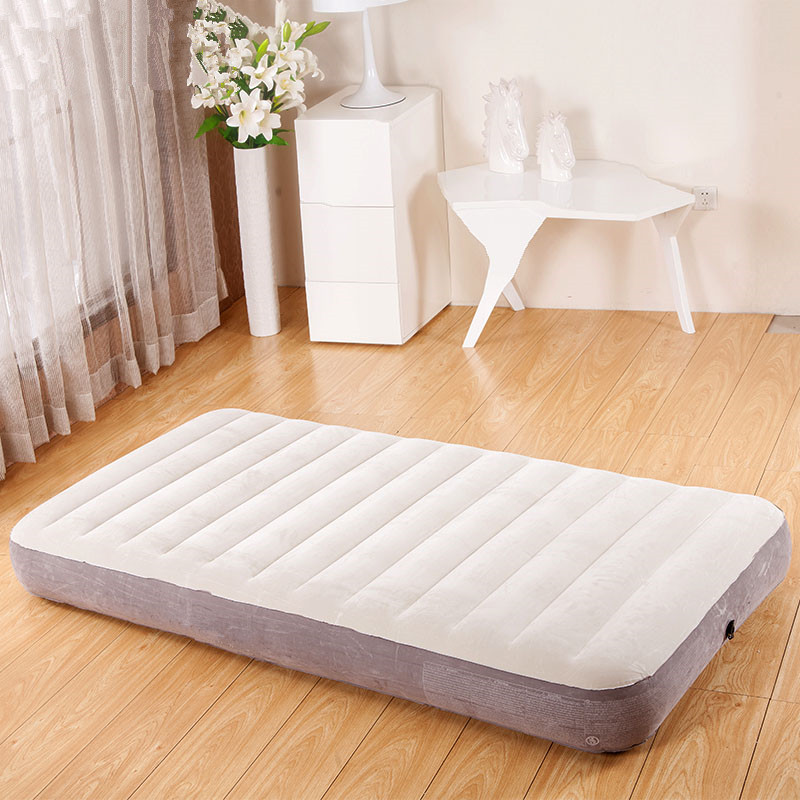 Folding Bed Inflatable Airbed Mattress Cama Beach Airbed Muebles De Dormitorio Bedroom Furniture Colchon Free Shipping цена 2017