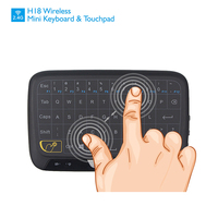 New Real Touch Keyboard 2 4G Wireless Mini Touchpad Mouse Keyboard For PC Laptop Tablet Pad