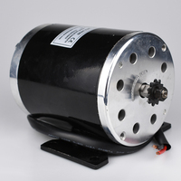 MY1020 1000W 48V/36V UNITEMOTOR High Speed Brush DC Motor Electric Bicycle Motor E Scooter Motor Ebike Brushed Gear Motor