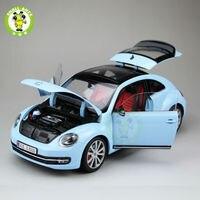 1:18 Scale VW Volkswagen,New Beetle,Diecast Car Model,Welly FX models,blue