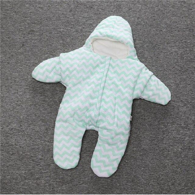 Розничная мультфильм ребенка звезды спальный мешок с крышкой новорожденных зима Спать Мешки Хлопка