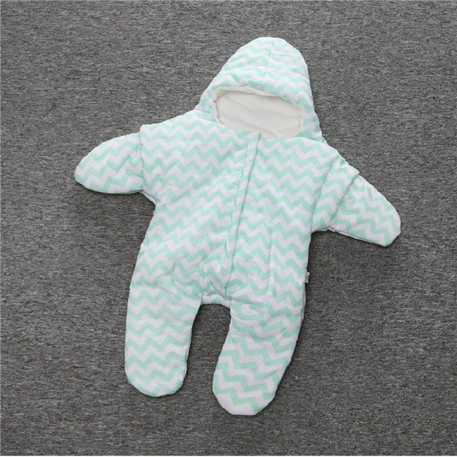 Retail cartoon  baby starfish sleeping bag with cap newborns winter Sleep Sacks Cotton