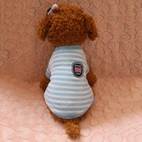 Clothes For Dog Stripe Hoodie Warm Flannel High Quality Cachorro Winter Chihuahua Clothes Roupas Para Cachorro Clothing for Pet