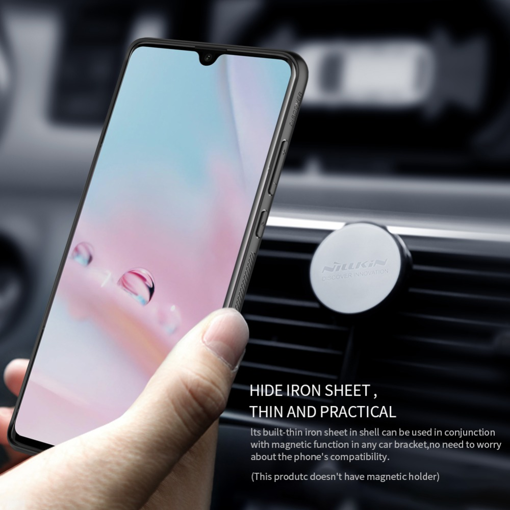 Huawei P30 Pro Case Cover Synthetic Carbon Fiber PP Hard Plastic With Magnetic Phone Bag Cases For Huawei P30 Capa