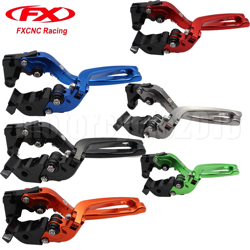 FXCNC 3D Aluminum Folding Moto Motorcycle Brake Clutch Lever For Triumph TIGER 800/XC 2011-2014 2012 2013 Motobike Brake Lever motorcycle levers clutch and brake folding lever for xl883 1200 x48 moto modification