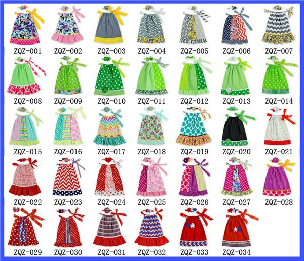 64d834d9b542 24Sets LOT Sale Girls Pillowcase Dress Happy St. Patrick s Day by ...