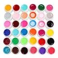 36 Color Solid Pure UV Builder Gel Set Nail Art False Full French Tips Salon Set #Pure36C
