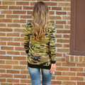 Fashion Women's Casual Sweatshirts Camouflage Long Sleeves Tops Shirt Ladies Loose Hoodies Harajuku Tracksuits Female Sudaderas
