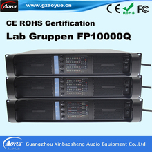 Power Audio 4channels Amplifier Lab gruppen FP10000Q blue board HiFi amplifier with 3300uf capacitors