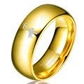 8 мм Пользовательские Позолоченные Tungsten Обручальное Кольцо Из Карбида без Diamnond Женщины Стрелец Палец Кольцо Размер 4 до 13 половина