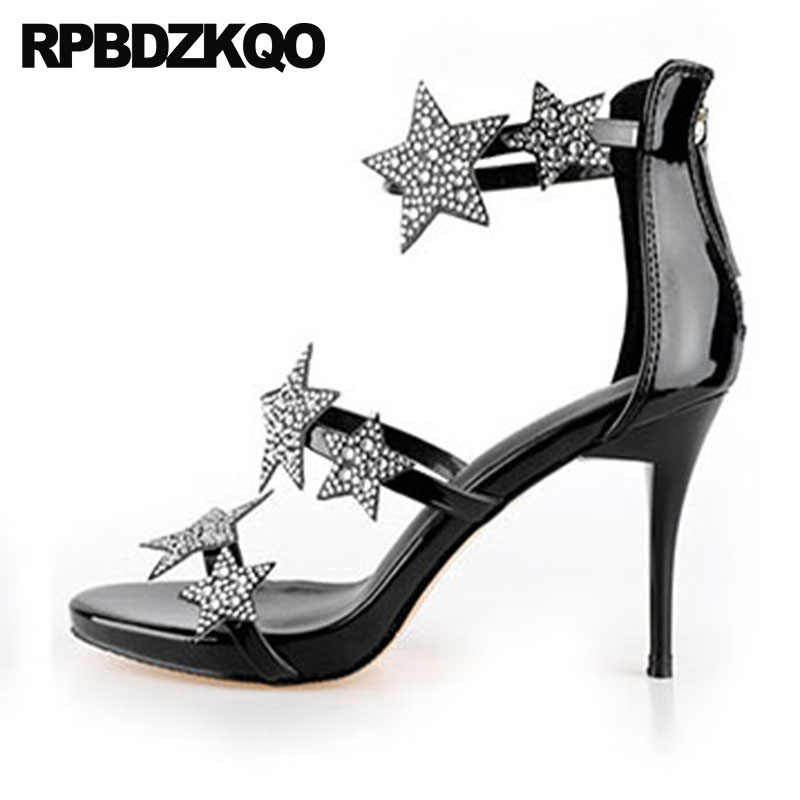 a5c296666a Detail Feedback Questions about Silver Shoes Open Toe High Heels ...