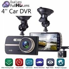 Dash Camera IPS 4.0 WDR 1080P Car Recorder Cam G Sensor Adas Motion Detection Parking Guard DVR 5