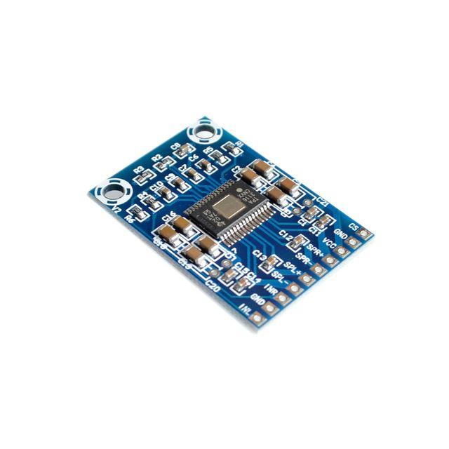 10PCS/LOT DC 12V 24V 2x50W Dual Channel Mini Digital Amplifier D Class 50W+50W TPA3116D2 XH M562 Amplifier 50W Power Amplifier