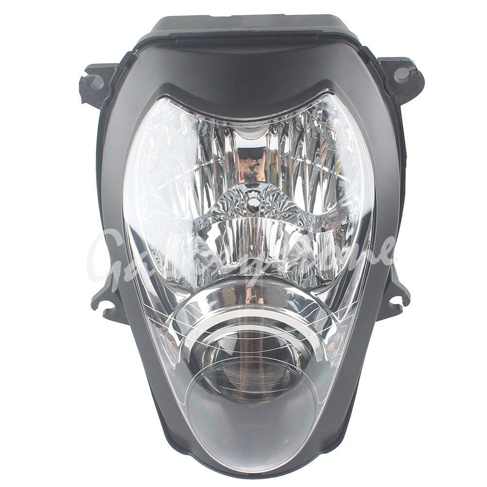 Headlight Headlamp Assembly For 1997-2007 2006 Suzuki GSX-R1300 Hayabusa ClearHeadlight Headlamp Assembly For 1997-2007 2006 Suzuki GSX-R1300 Hayabusa Clear