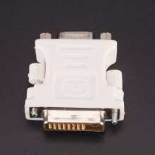 24+ 1 Pin DVI-D-D-M-VGA-F адаптер видео компьютер монитор адаптер-25 Pin(Dual Link) DVI-D Male To 15 Pin VGA Female