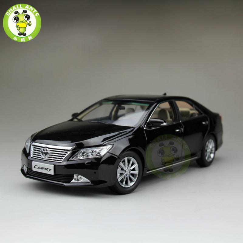 1:18 Camry 2012 odlany model samochodu czarny w Odlewane i zabawkowe pojazdy od Zabawki i hobby na  Grupa 1