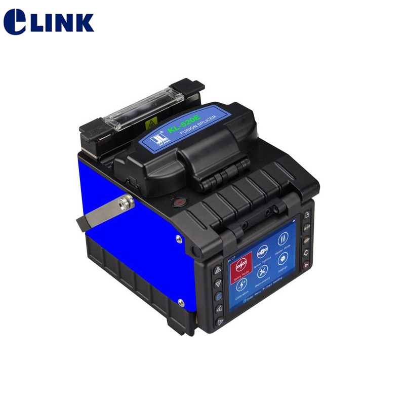 Optical Handheld Kl-500E Fiber Optic Fusion Splicer Core-Core//Clad-Clad Alignmen