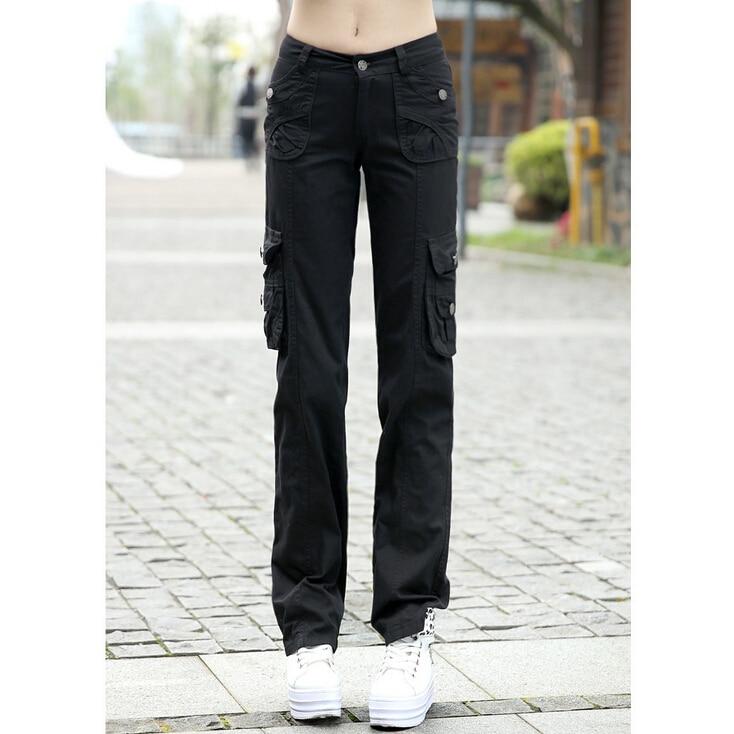Online Get Cheap Womens Khaki Cargo Pants -Aliexpress.com ...