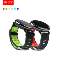 SIKAI Sports Watch Replacement Silicone Bracelet For Xiaomi Huami Aamazfit Smartwatch Band Strap For Xiaomi Aamazfit
