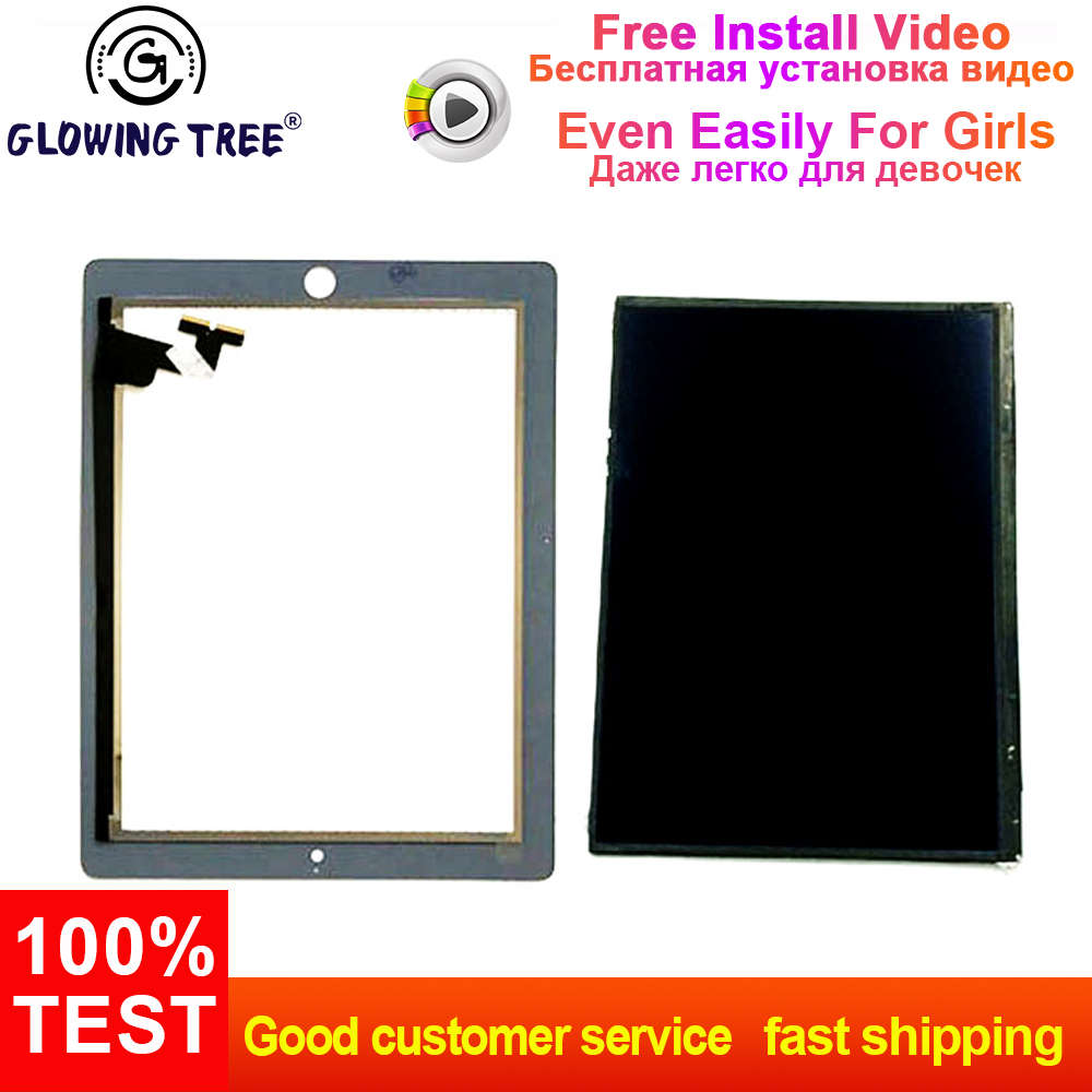 NEW iPad 2 A1376 A1395 A1396 A1397 LCD Display Touch Screen Digitizer Lens Glass